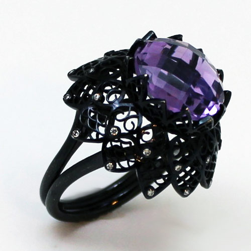 Amythest-Black-Lace-Ring