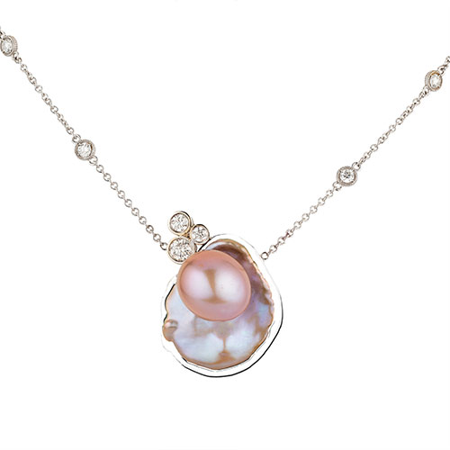 Seeing-Double-Pearl-Pendant